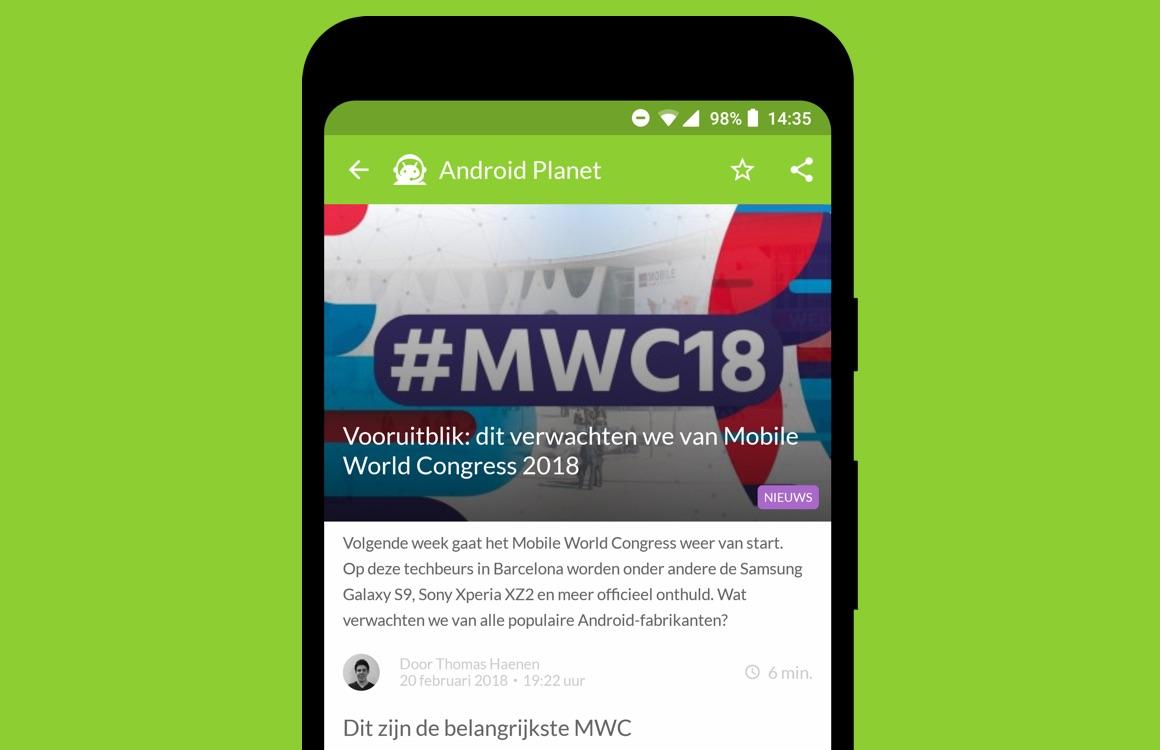 Android nieuws #8: MWC 2018 vooruitblik en Android P-features