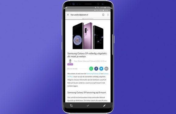 Zo maakt Google het bewerken van screenshots in Android makkelijker