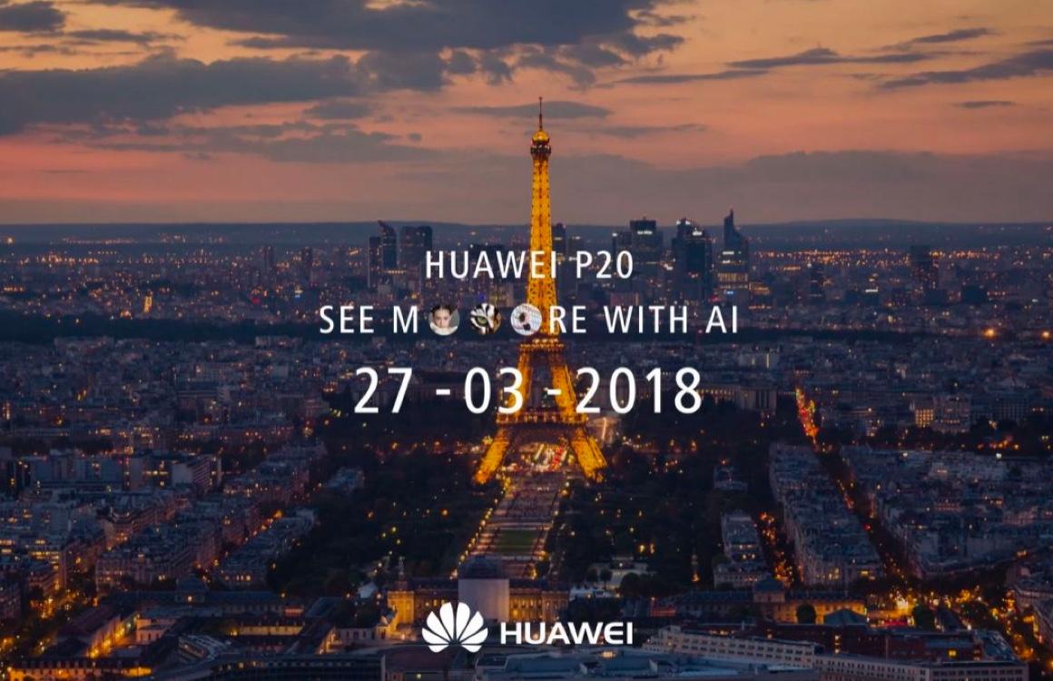 Livestream: volg de onthulling van de Huawei P20 – update