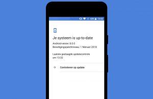 Android-beveiligingsupdates overzicht