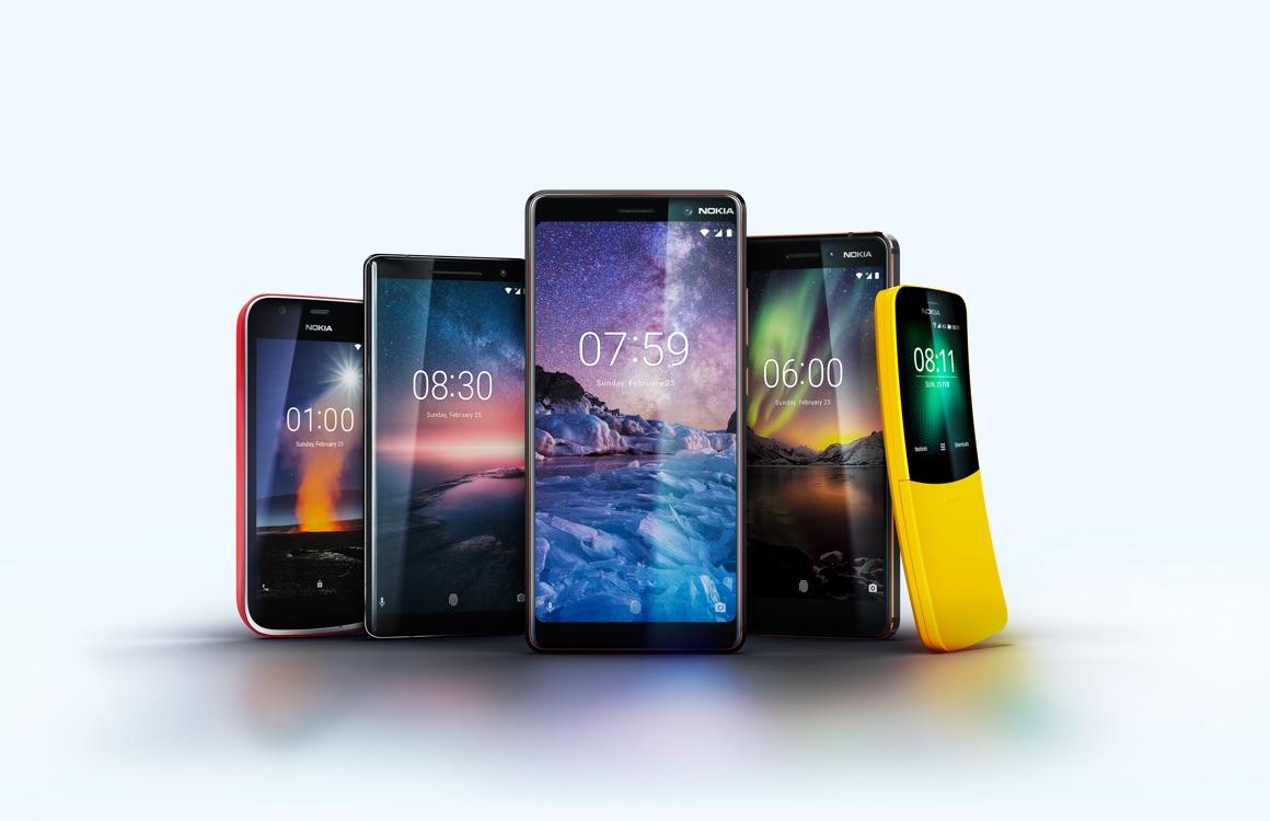 Nokia-smartphones in 2019