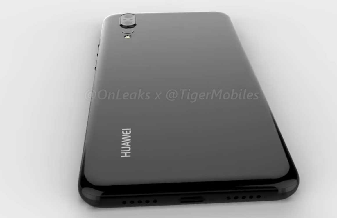 Video: 'Huawei P20-render toont drie camera's en notch'