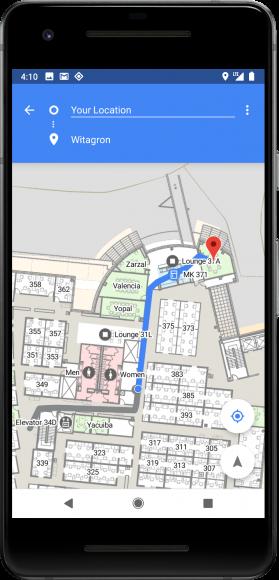 Android P aangekondigd wifi locatiebepaling