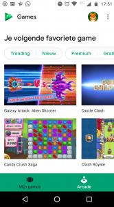 Google Play Instant Arcade