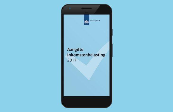 Doe je belastingaangifte op je smartphone met Aangifte 2017