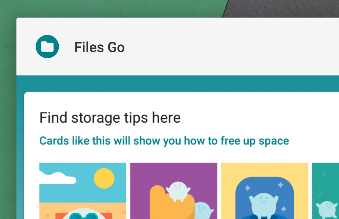 Files Go-update voegt Google Foto's-integratie, zoekgeschiedenis toe