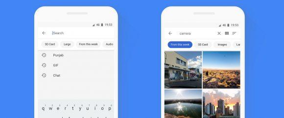 Google Files Go-update