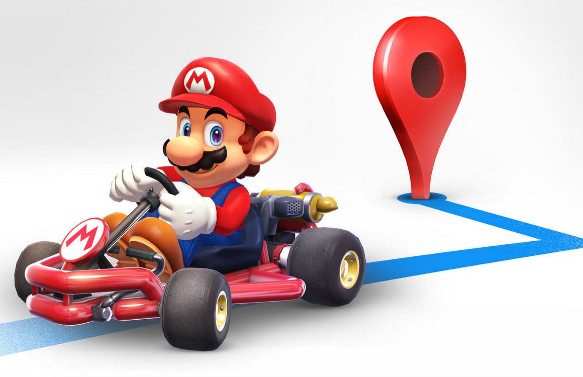 Zo rijd je als Super Mario door Google Maps