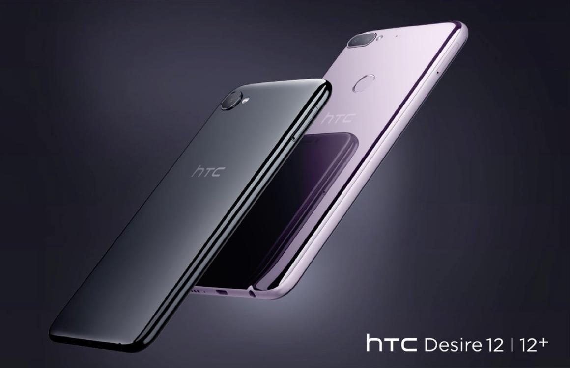HTC introduceert Desire 12 en Desire 12 Plus: randloze budgetsmartphones