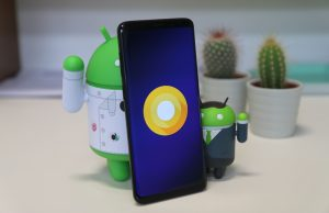 Problemen Samsung Galaxy S9-touchscreen