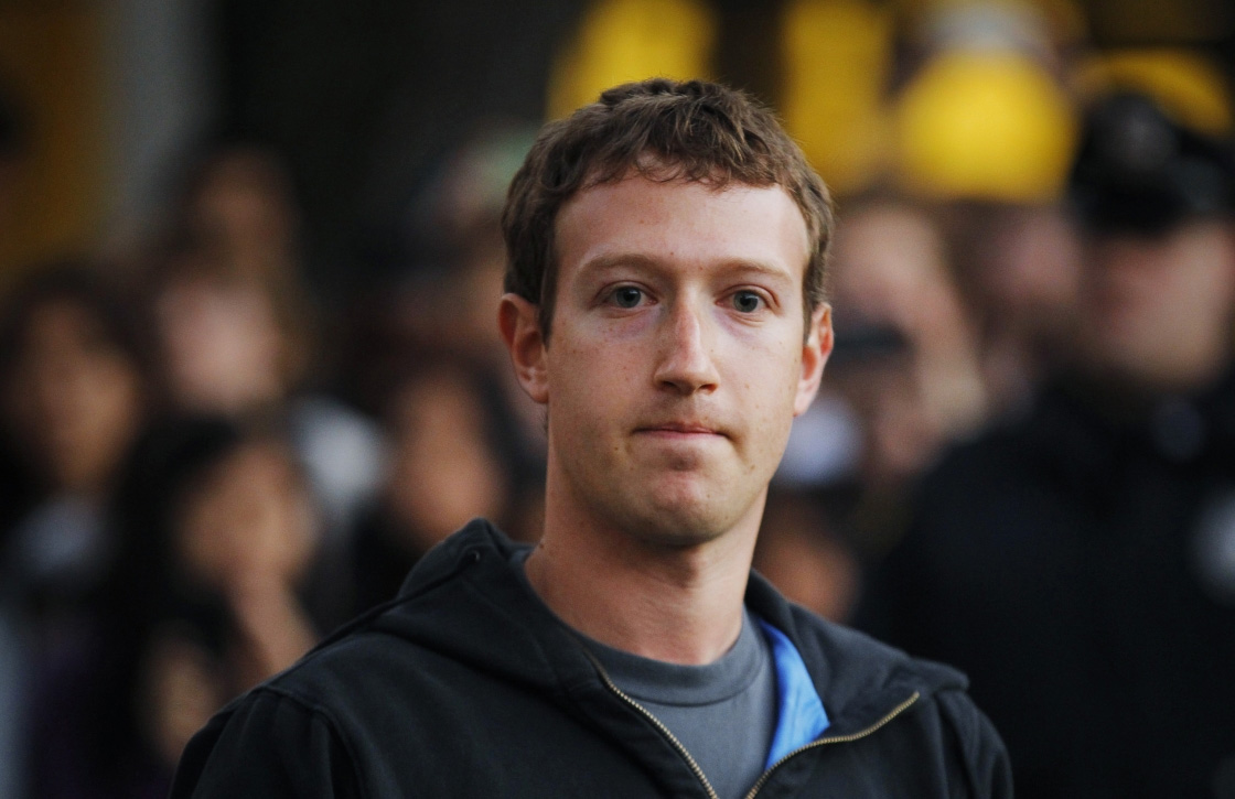 Facebook minder data Mark Zuckerberg