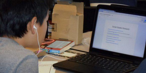 Chrome OS onderwijs overneemt