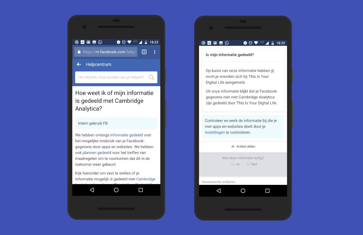 Tip: zo controleer je of jouw Facebook-gegevens zijn gelekt