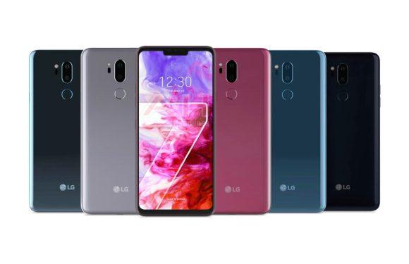 LG onthult G7 ThinQ op 2 mei, officiële persrender gelekt