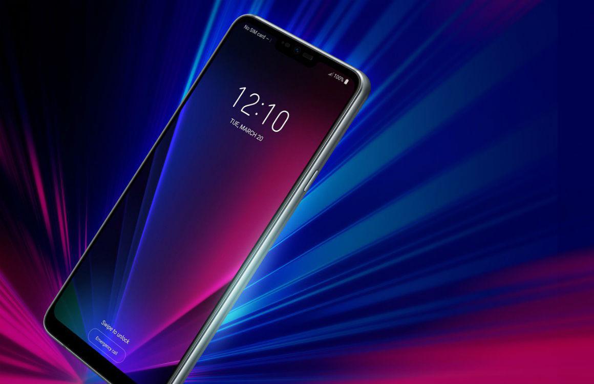 Uitgelekte LG G7 ThinQ-foto toont notch, extra knop en koptelefoonaansluiting