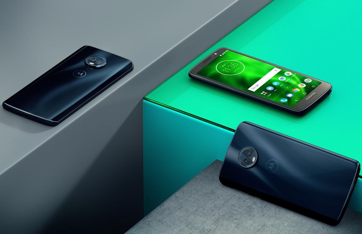 Motorola Moto G6 Plus met dubbele camera nu in Nederland te koop