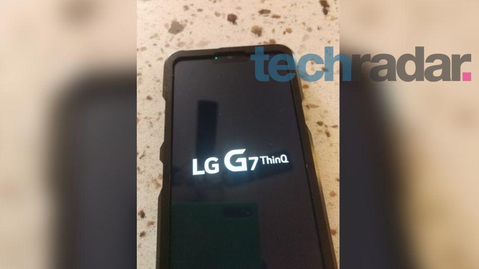 lg g7 thinq foto's