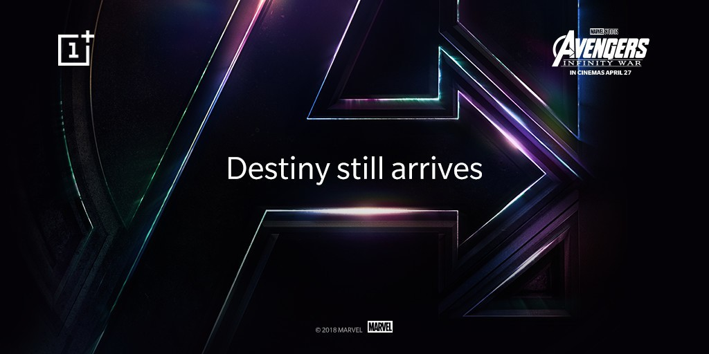 Avengers-versie OnePlus 6