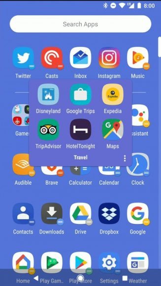 Action Launcher Android P (1)