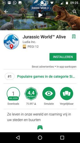 Automatische vertaling Google Play uitzetten