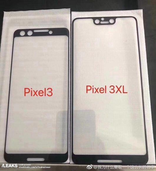 Pixel 3 XL notch screenprotector