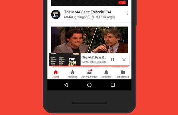 YouTube-app krijgt nieuwe en handige mini-videospeler