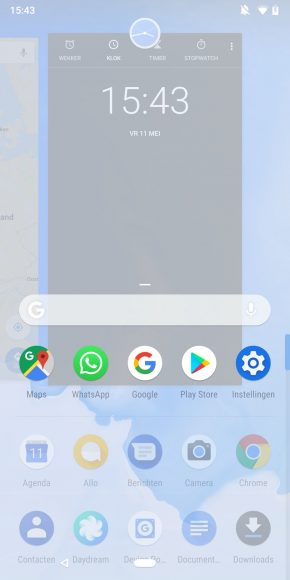 android p gebaren