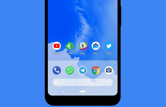 Downloaden: de nieuwe wallpaper van Android P