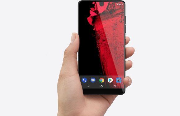 'Essential Phone 2 geannuleerd, bedrijf staat te koop'