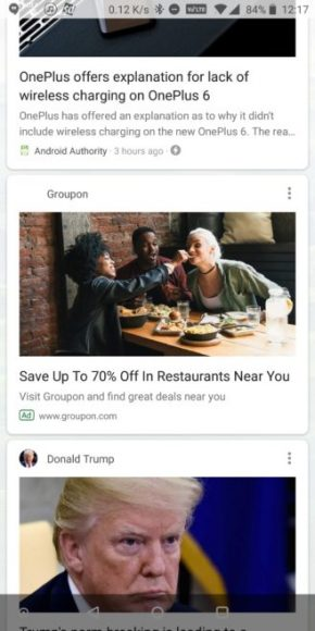 Google-app advertenties