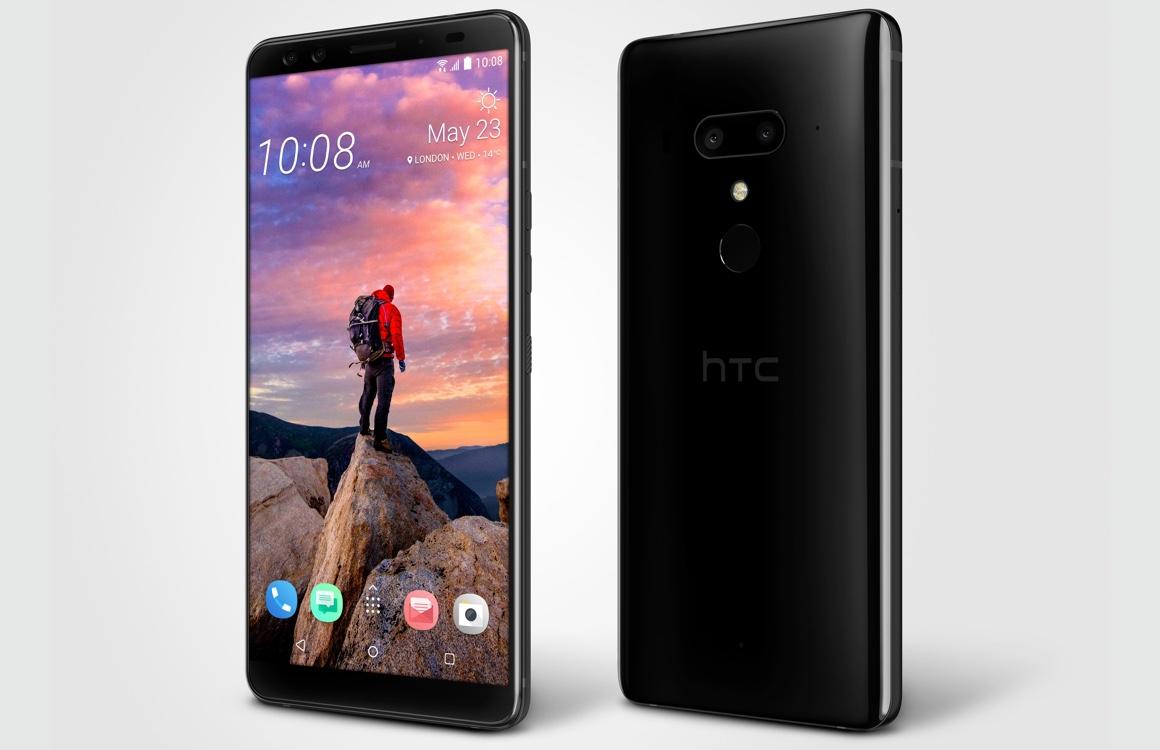 HTC U12 Plus onthuld: vier camera's en comeback voor knijprand