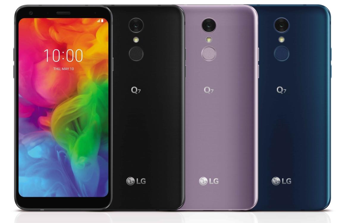 LG kondigt Q7 met voorkantvullend scherm en groothoeklens aan