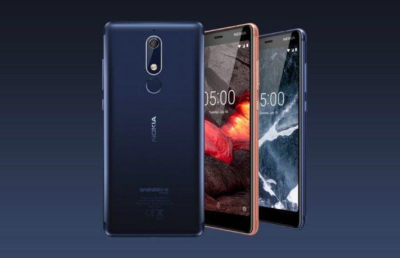Hands-on met de Nokia 5.1, Nokia 3.1 en Nokia 2.1: veel smartphone voor weinig geld