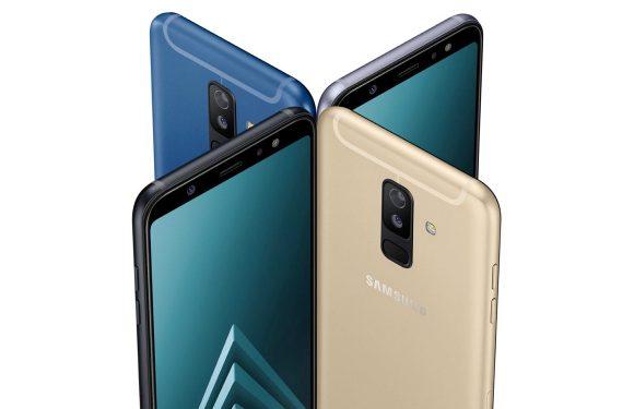 Samsung gaat nieuwe Galaxy A6 (Plus) niet maandelijks updaten