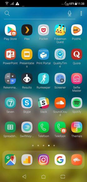 Asus Zenfone 5 review app-drawer