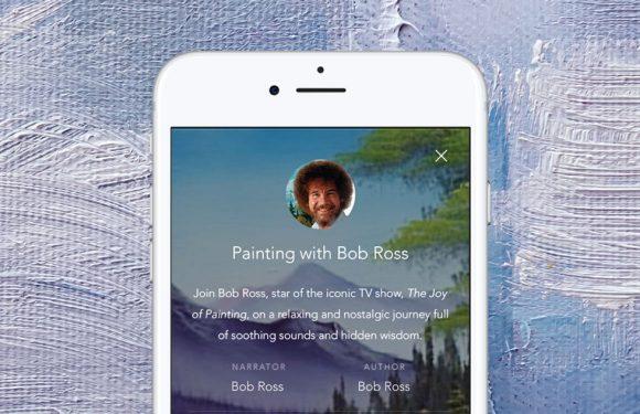 Bob Ross heeft zijn eigen bedtijdverhaal in Calm gekregen