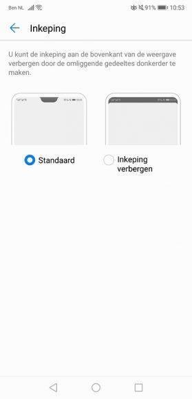 Huawei P20 review screenshot 2