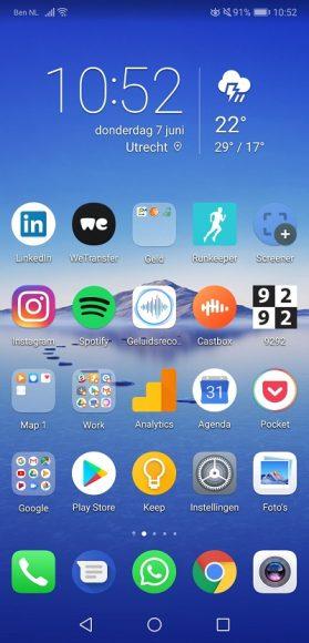 Huawei P20 review screenshot