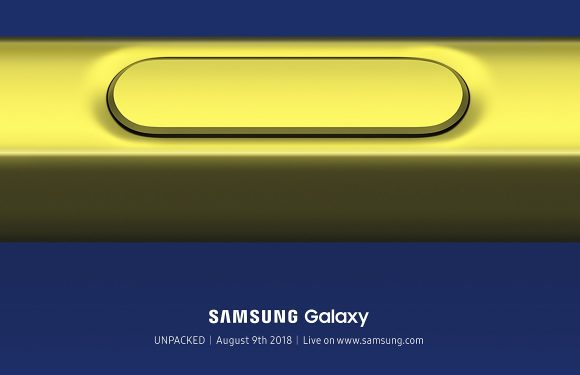 Samsung Galaxy Note 9 livestream: volg de onthulling hier