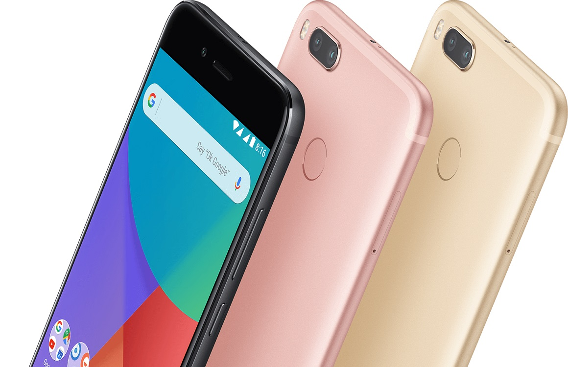 Xiaomi Mi A1 Android Pie-update 4G-storing