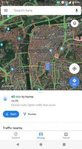 google maps redesign