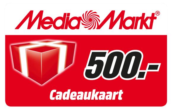 Laatste kans: win een MediaMarkt-cadeaubon van 500 euro!