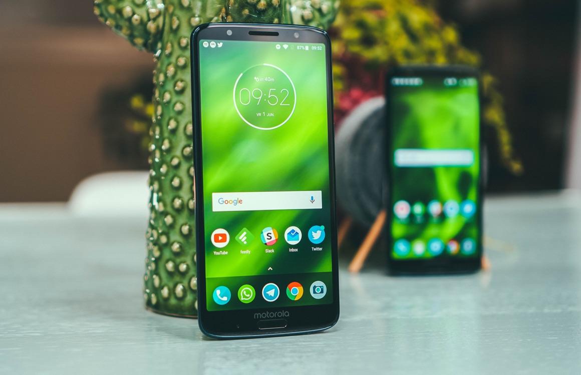 Motorola Moto G6, G6 Plus, G6 Play, E5 en E5 Plus krijgen geen updates meer
