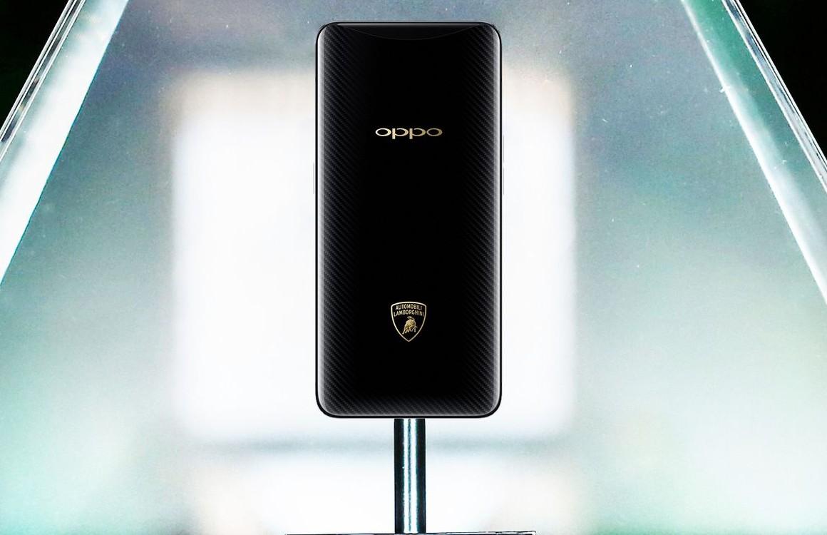 Dit is de Lamborghini-versie van de Oppo Find X: duur, met héél snel opladen