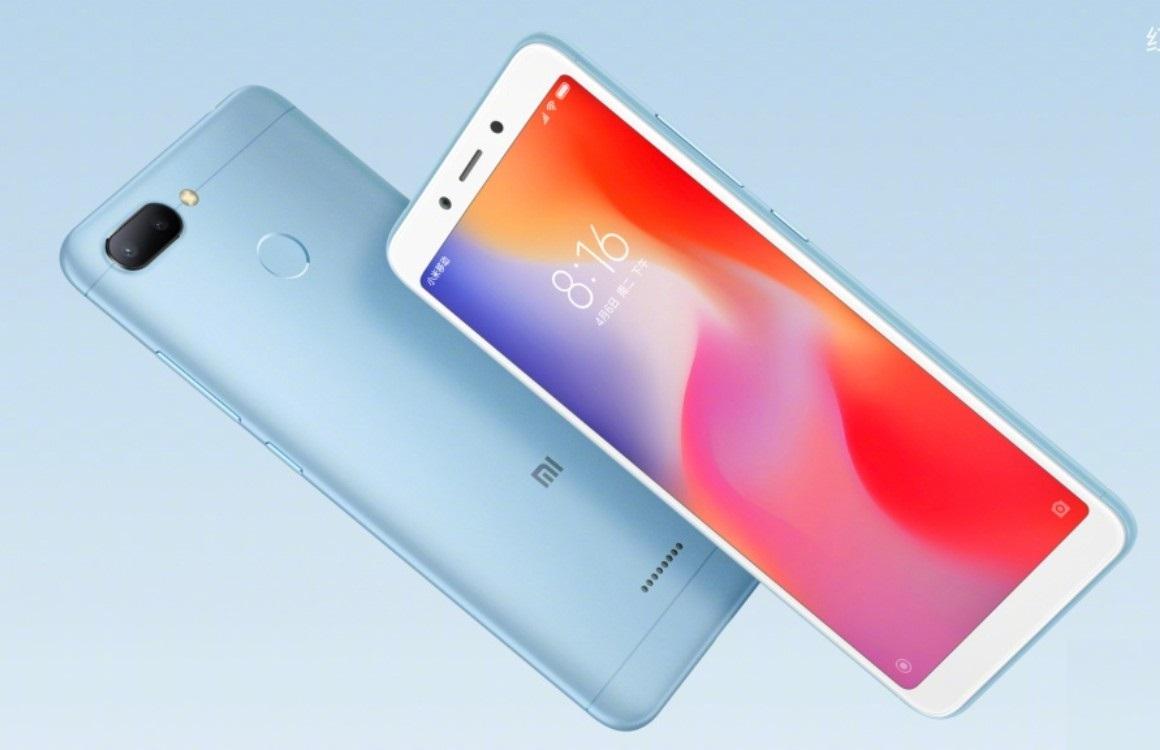 Xiaomi komt met Redmi 6 en 6A: goedkoop met groot scherm