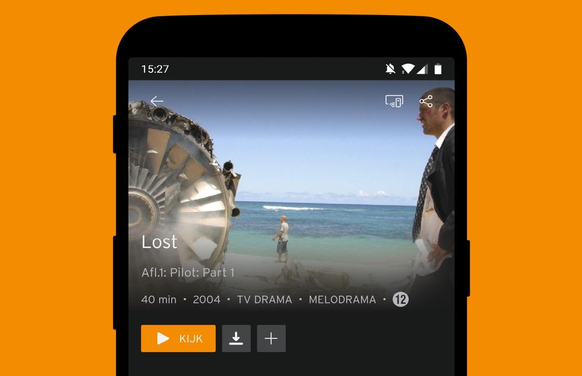 Ziggo Go-app laat je voortaan films en tv-series downloaden