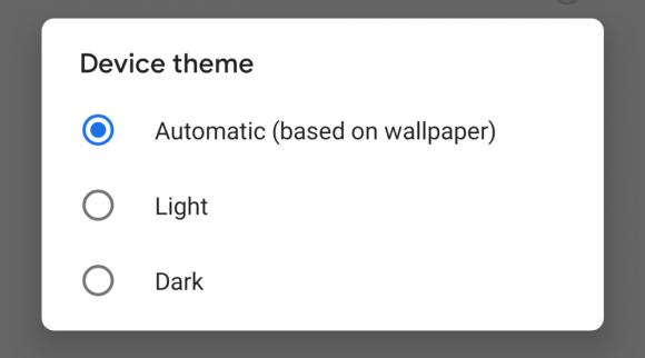 Android P Developer Previe 4 theme