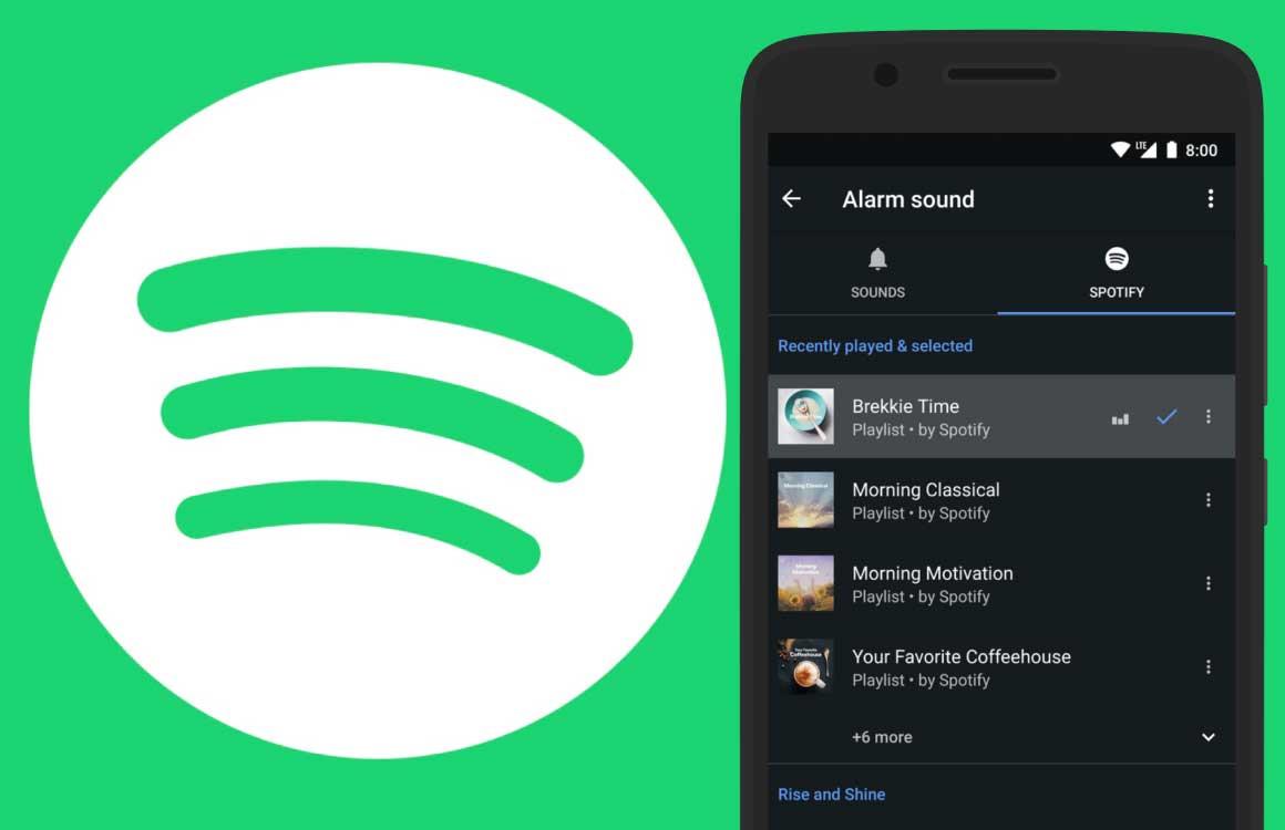 Wakker worden met je favoriete Spotify-muziek: zo doe je dat