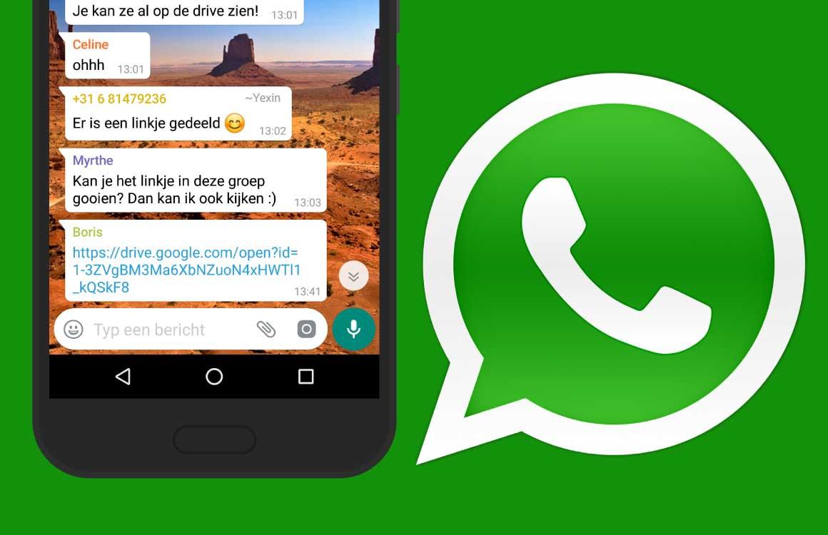 Zo gaat WhatsApp je beschermen voor 'verdachte' links