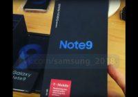 Video: unboxing Galaxy Note 9 toont verpakking en alle specs